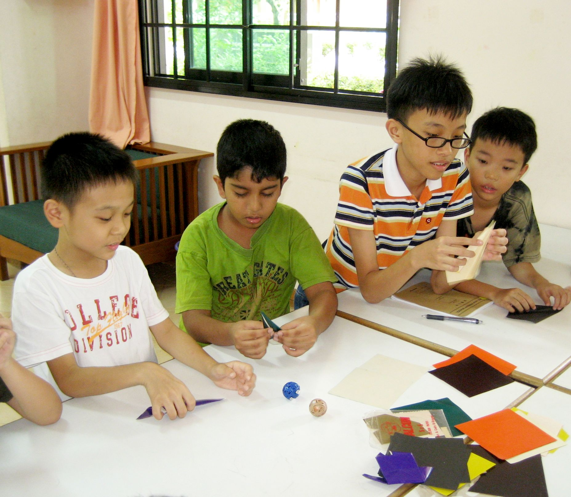 Holiday Enrichment 2012 - Art & Crafts 02