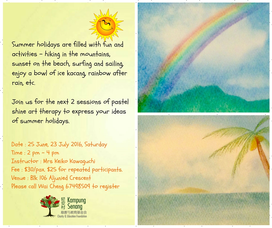 Art Therapy June and Jul 2016 V3