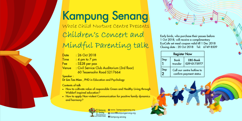 Childrens Concert and Parenting Talk