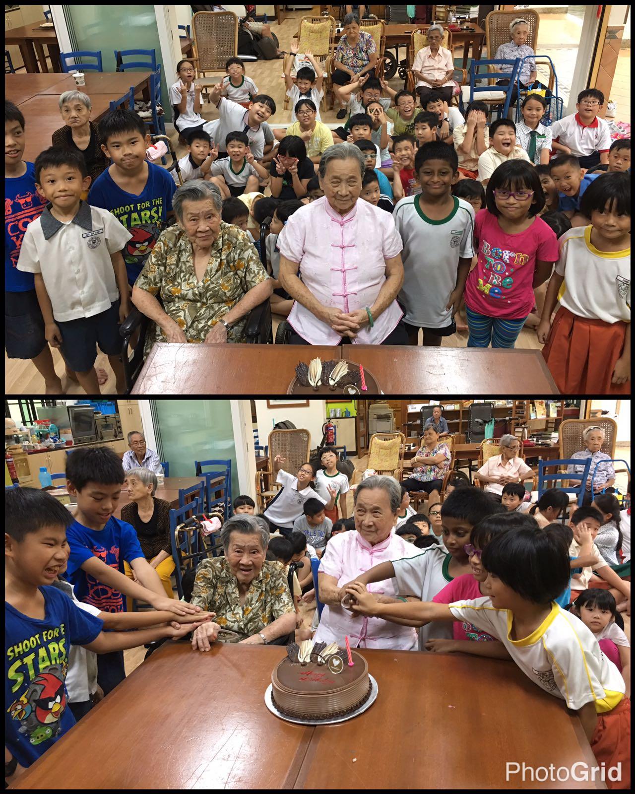 Inter-Generational Bonding Birthday Celebration