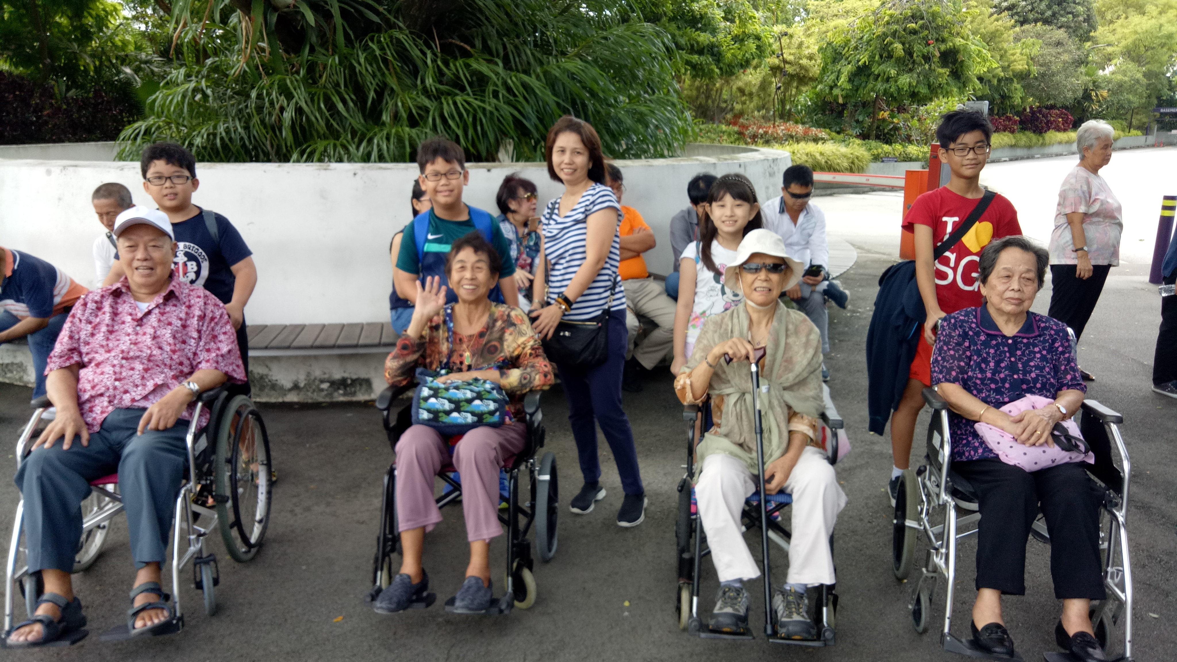 Inter-Generational Bonding - Outing to Gardens by the Bay (3)