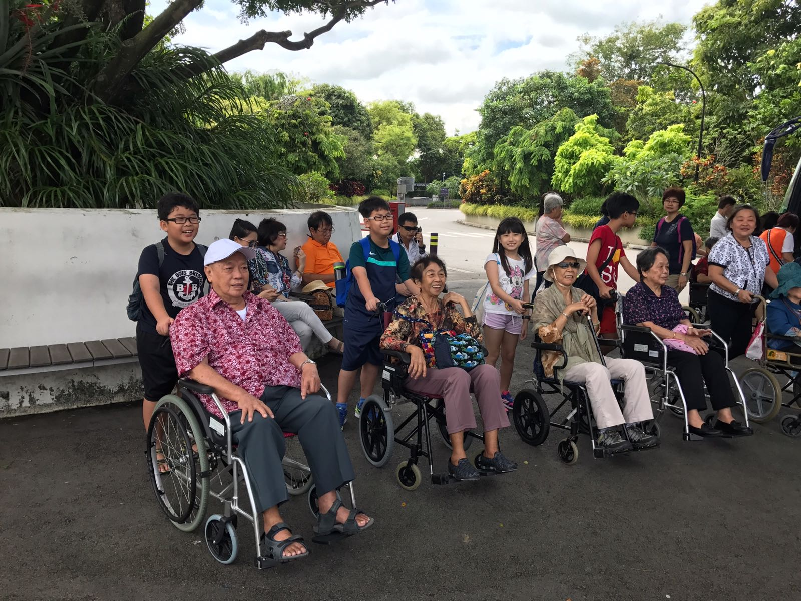 Inter-Generational Bonding - Outing to Gardens by the Bay