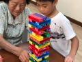 Inter-Generational Bonding - Play Jenga